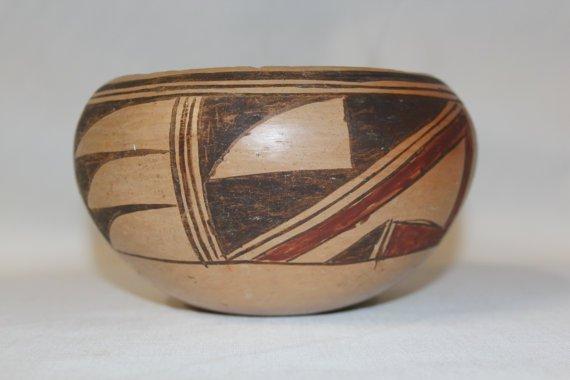 Traditional Hopi Pottery Bowl