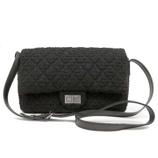 162b2ffc04c7 Chanel Black Boucle Tweed Crossbody Bag. placeholder. See Sold Price