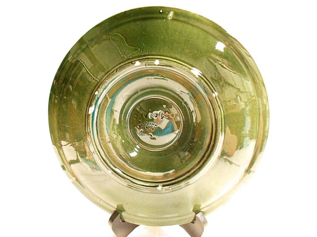 Longchamp Terre de Fer Oyster Plate - 4