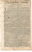 The London Gazette Surrender of Luxembourg, 1684