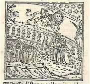 Dante Paradiso with Woodcut Leaf, 1507