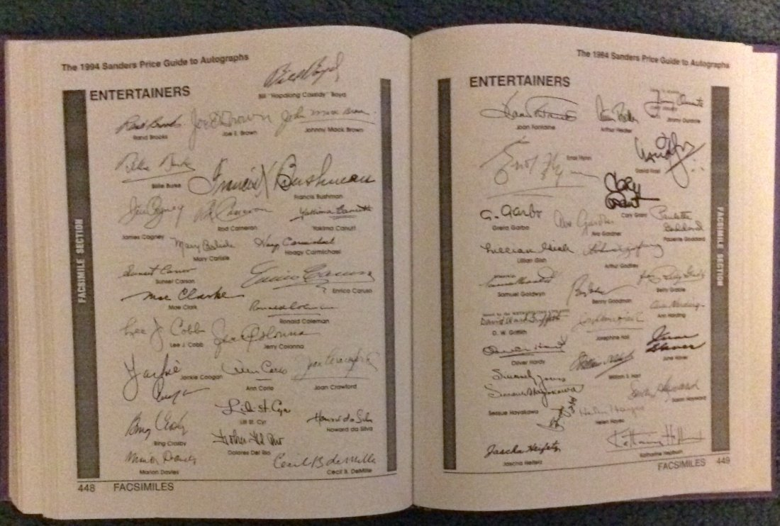 2 Collector-Dealer Essential HC Autograph Reference Bks - 3