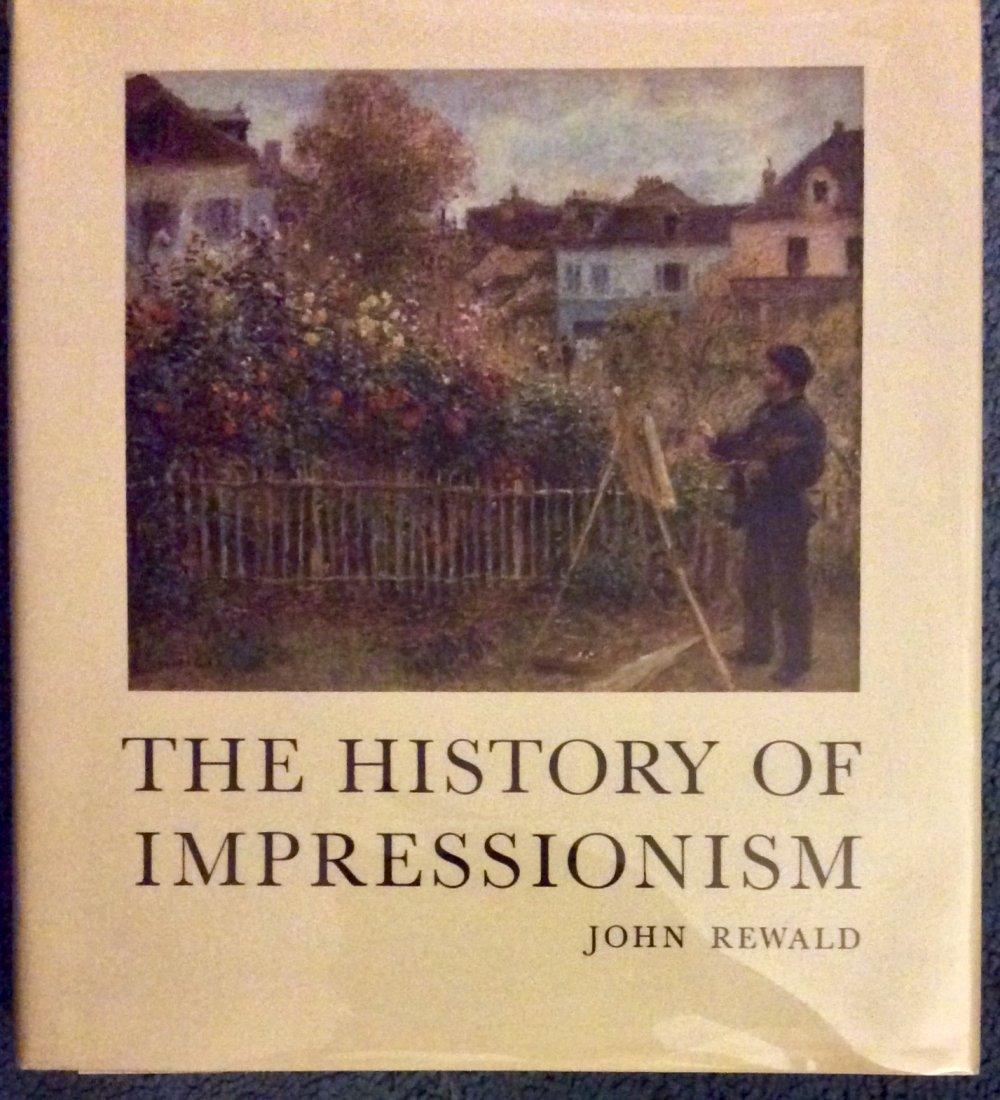 VINTAGE Hardcover Art Reference Impressionism History