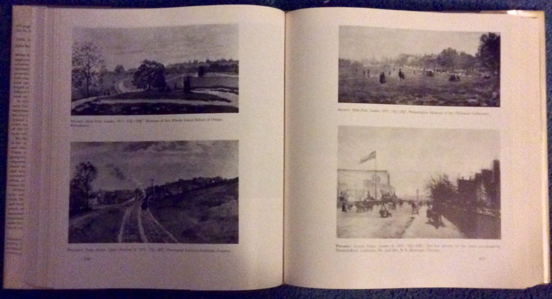 VINTAGE Hardcover Art Reference Impressionism History - 4