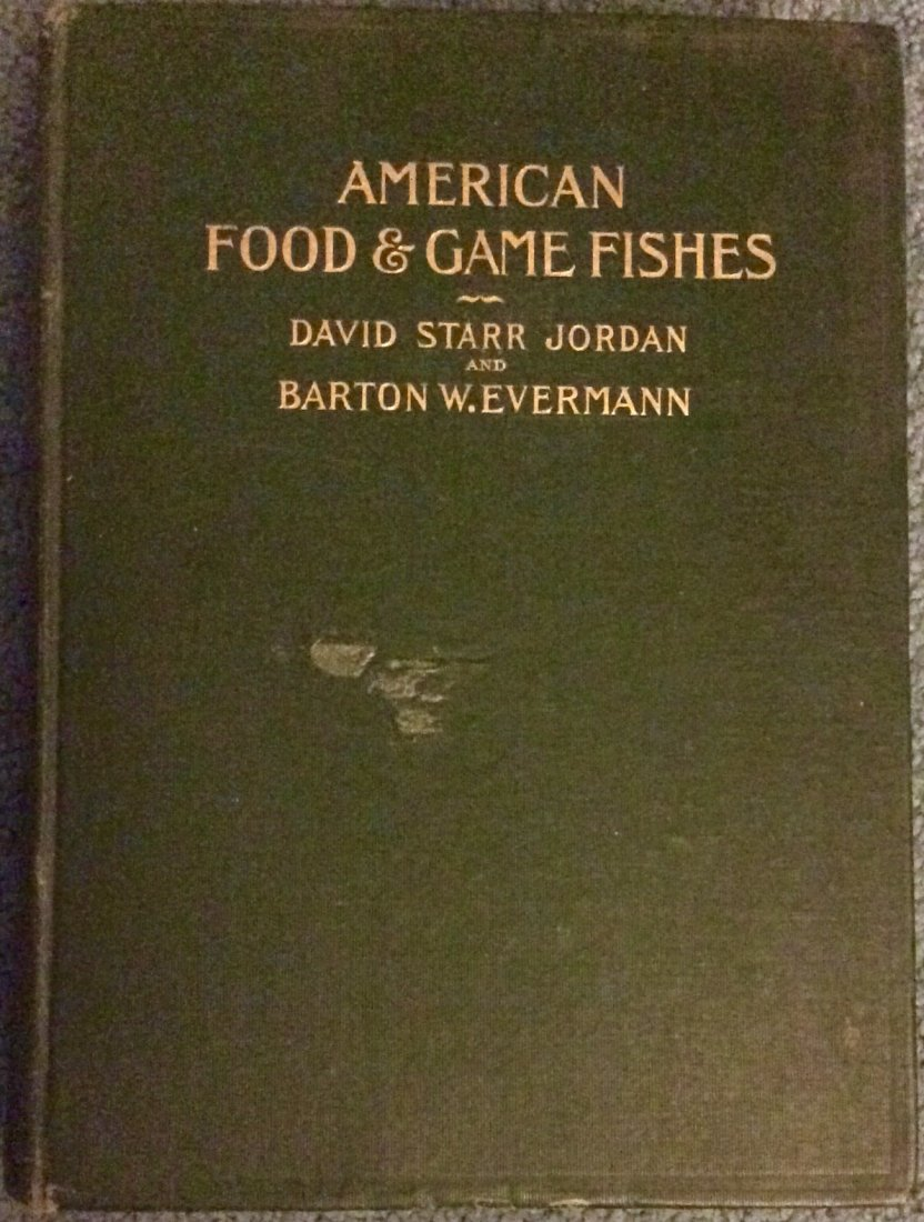 ANTIQUE 1908 Illustrated Hardcover Fishing Book