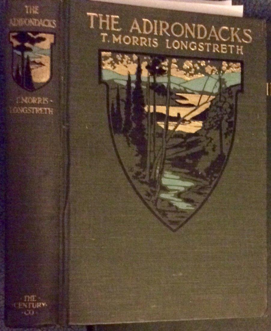 ANTIQUE 1917 Illustrated Adirondack Mountains Travel