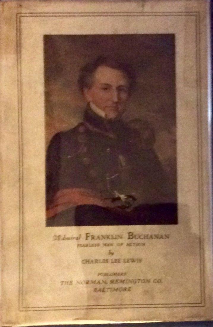 Anitque HC 1st Ed W/DJ Admiral Buchanan Naval Biography