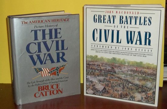 (2) HC Collectible Civil War Reference Books