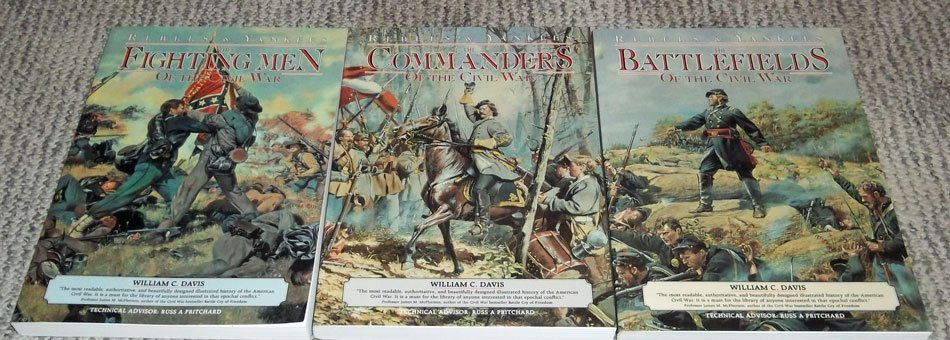 (2) HC Collectible Civil War Reference Books - 2