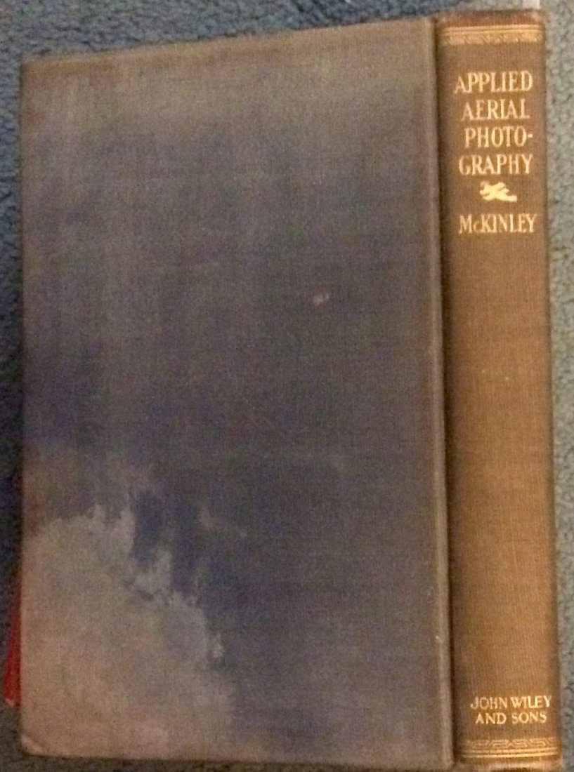 SCARCE Aerial Photography HC Signed by Author & Ad.