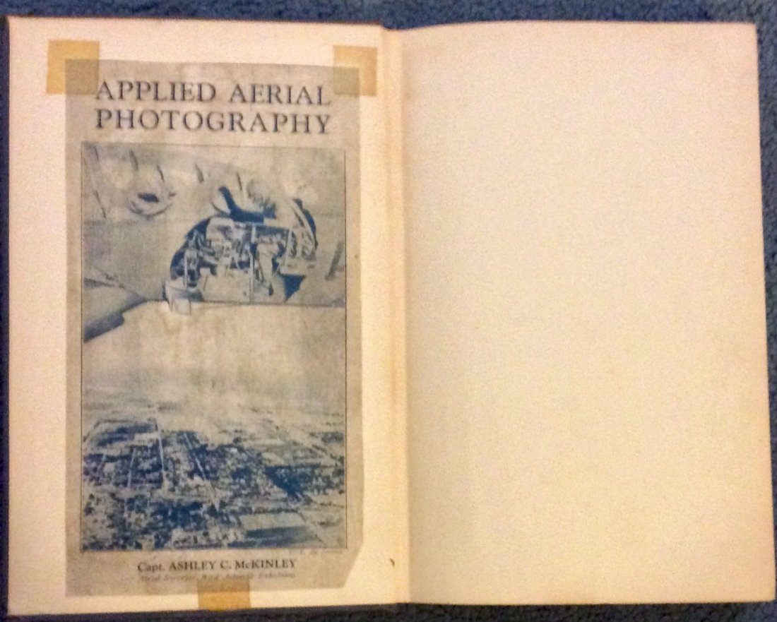 SCARCE Aerial Photography HC Signed by Author & Ad. - 3