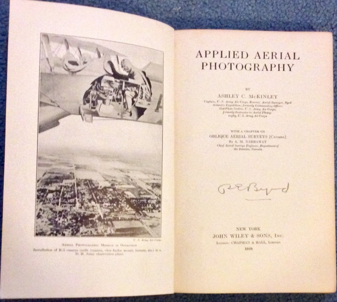 SCARCE Aerial Photography HC Signed by Author & Ad. - 5