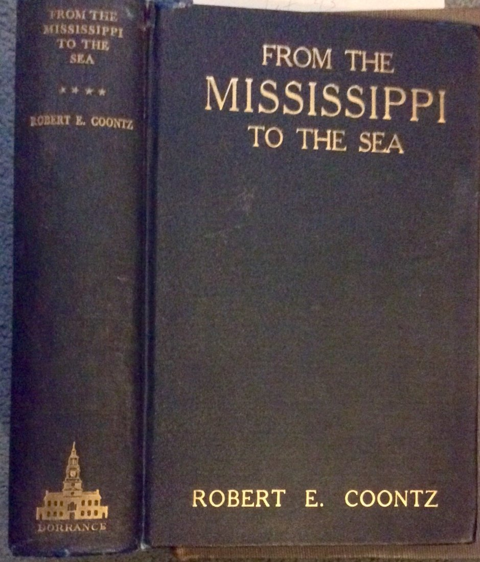 VINTAGE 1920 Naval Biography Of Admiral Robert Coontz
