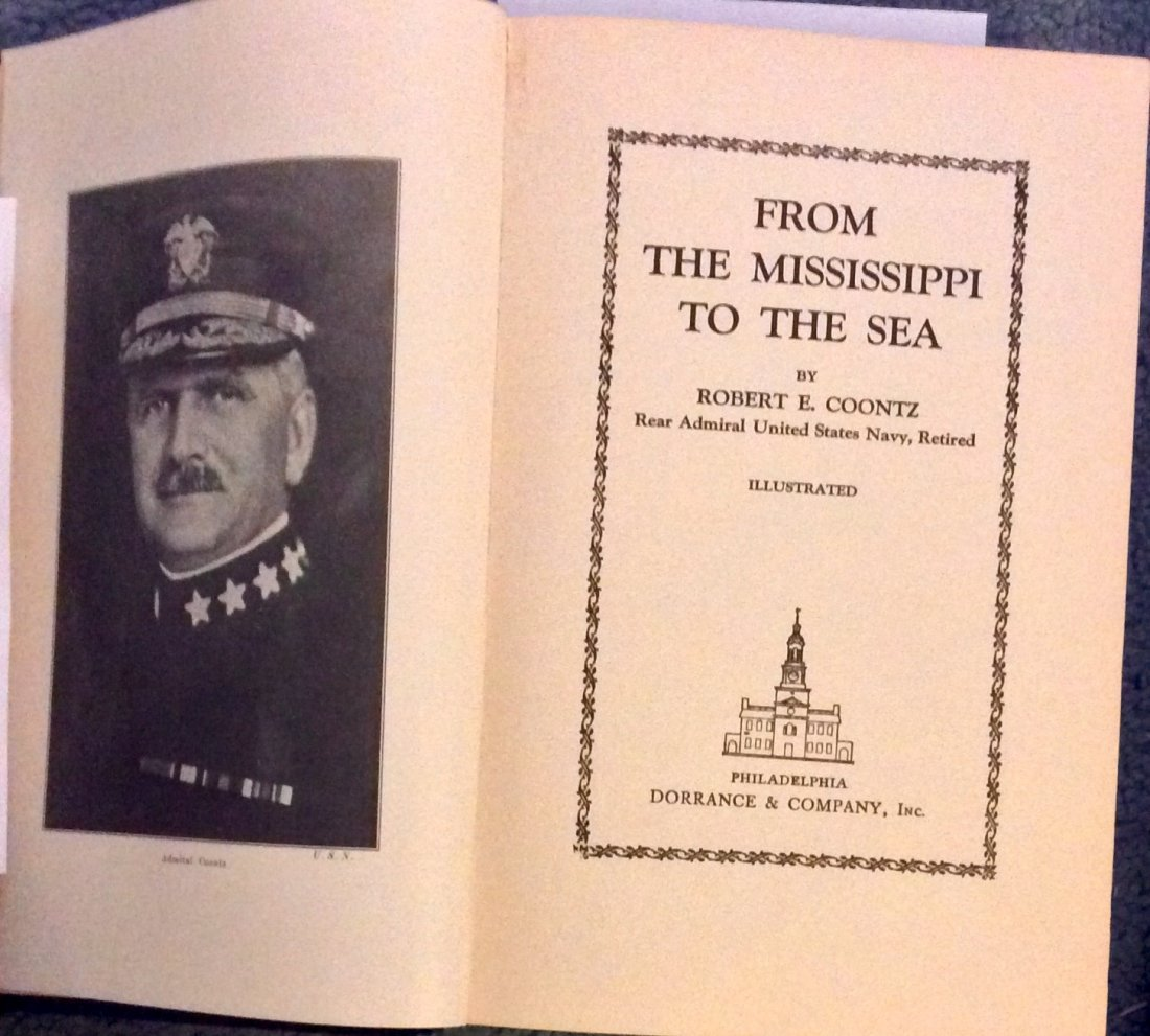 VINTAGE 1920 Naval Biography Of Admiral Robert Coontz - 2