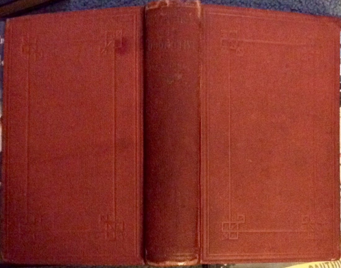 ANTIQUE 1875 Heavily Illustrated Locomotive Technical