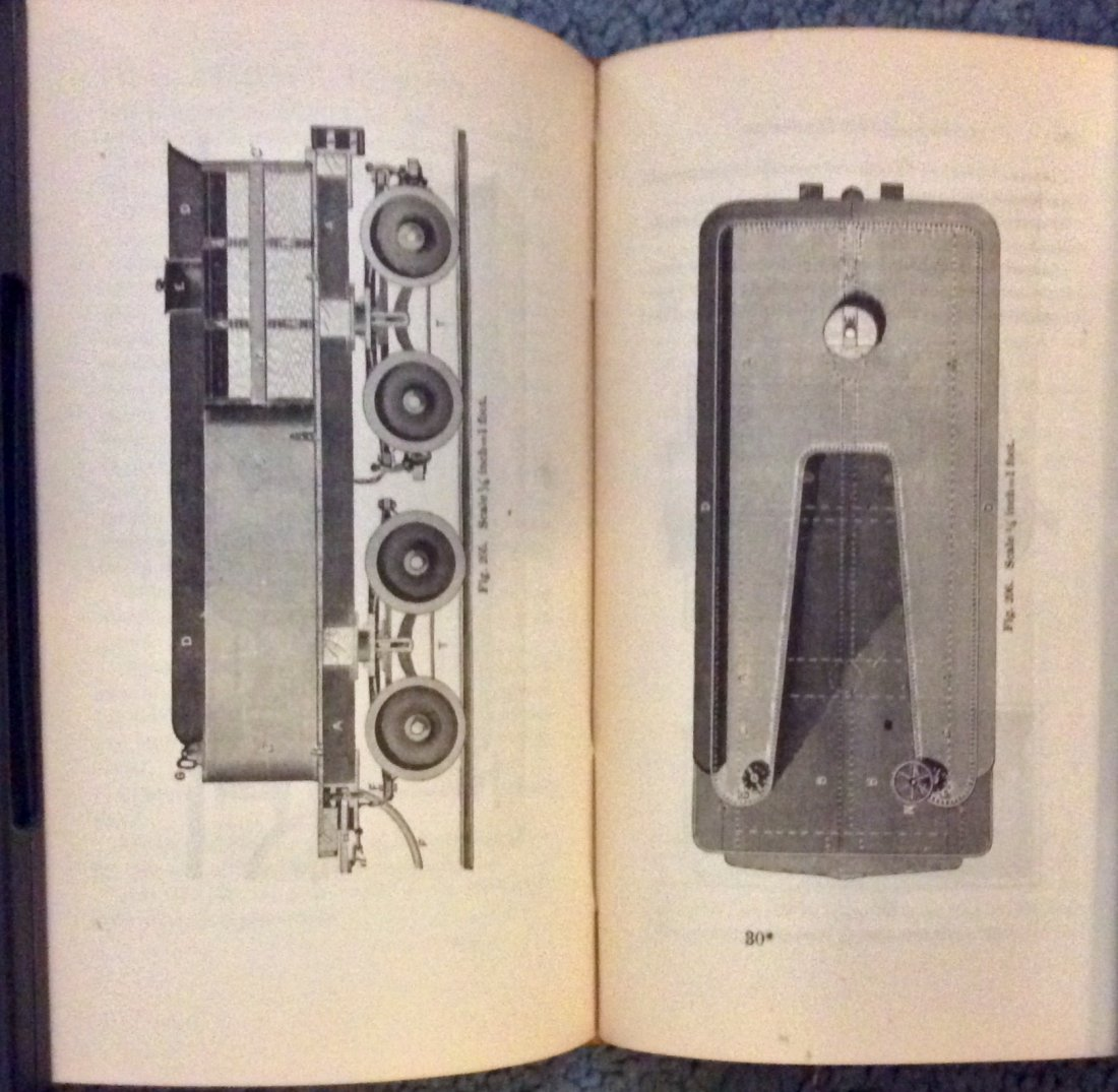 ANTIQUE 1875 Heavily Illustrated Locomotive Technical - 4