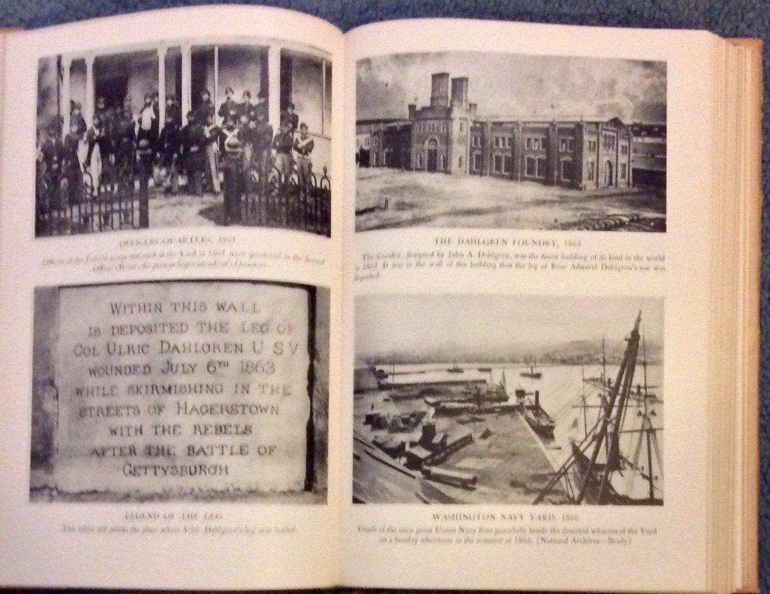 VINTAGE Military HC History Of Washington Navy Yard - 3