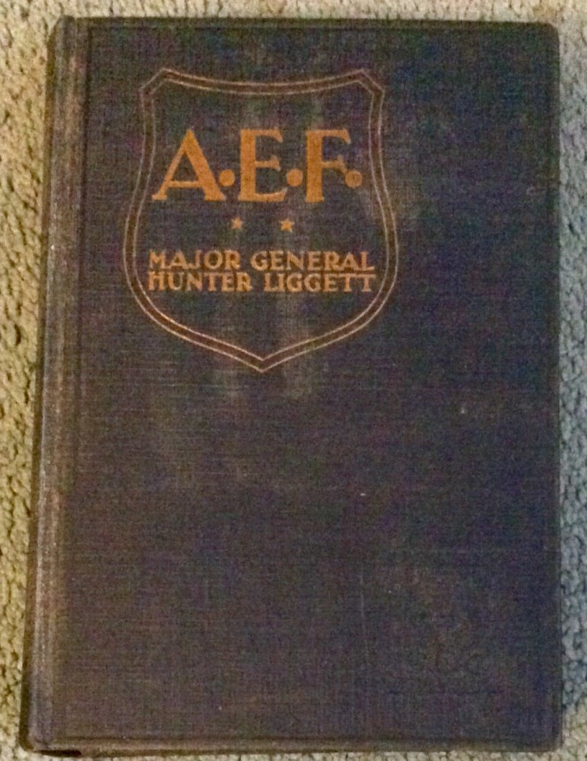 SCARCE WWI American Military History Hardcover