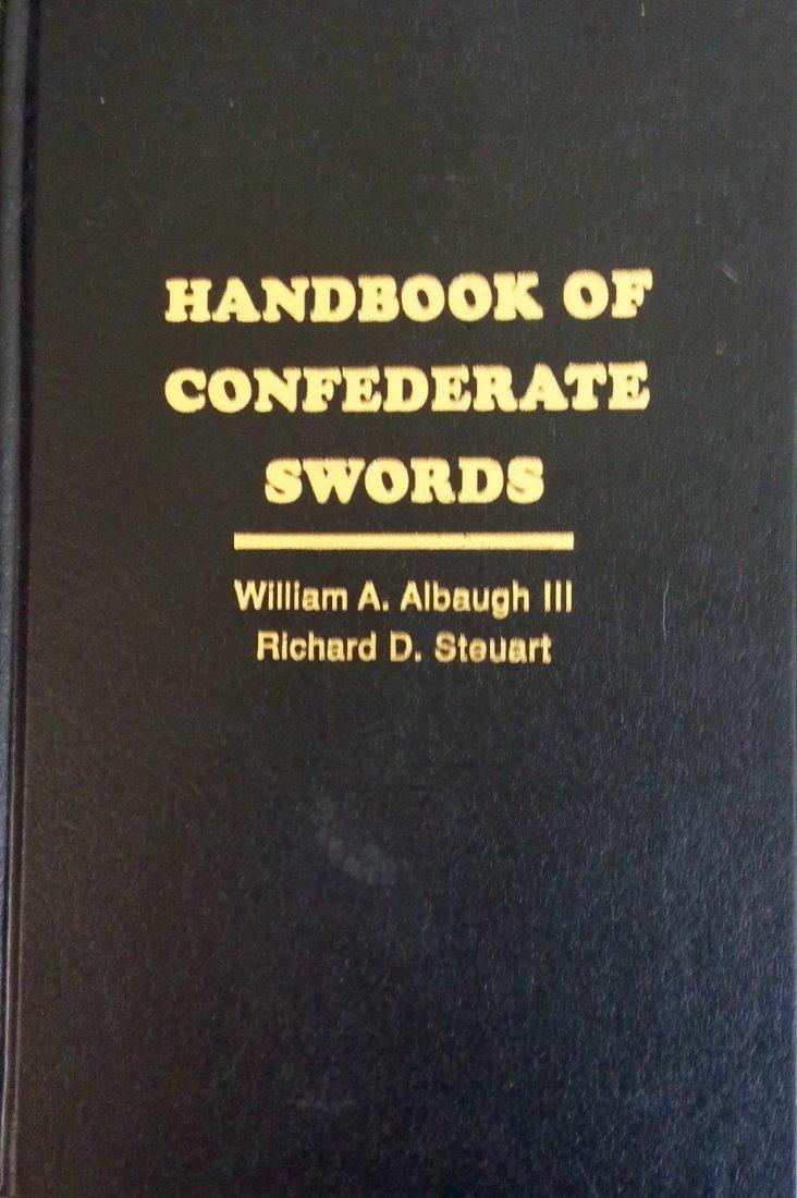 Refertence HC in DJ: Confederate Swords Handbook