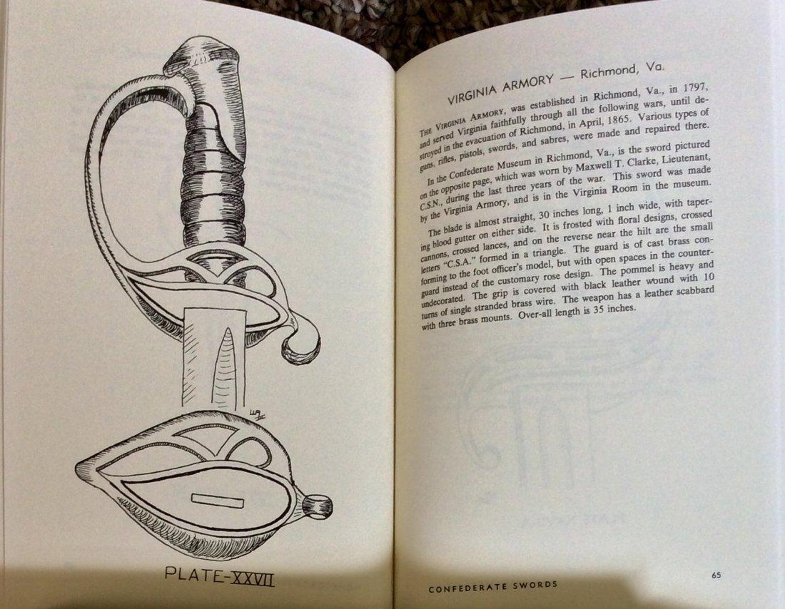 Refertence HC in DJ: Confederate Swords Handbook - 2