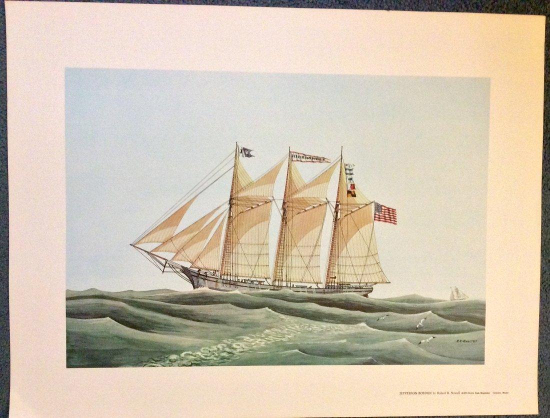 Robert R. Newell Color Marine Print