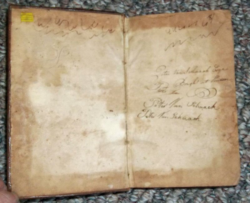 Antique American Published 1806 Leather Bound Prayer Bk - 3