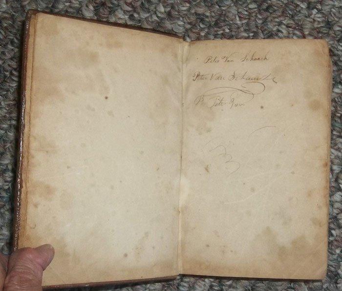 Antique American Published 1806 Leather Bound Prayer Bk - 4