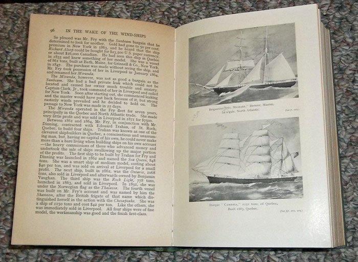 ANTIQUE Illustr Maritime History of Canada's - 2