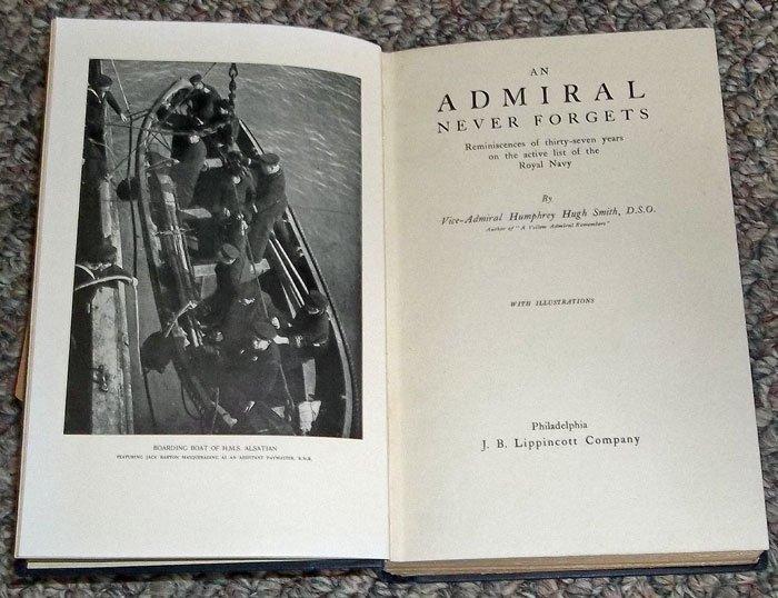 VINTAGE British Naval Military Biography - 2