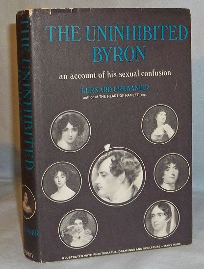 Collectible HC Lord Byron's sex life 1st ed W/ DJ