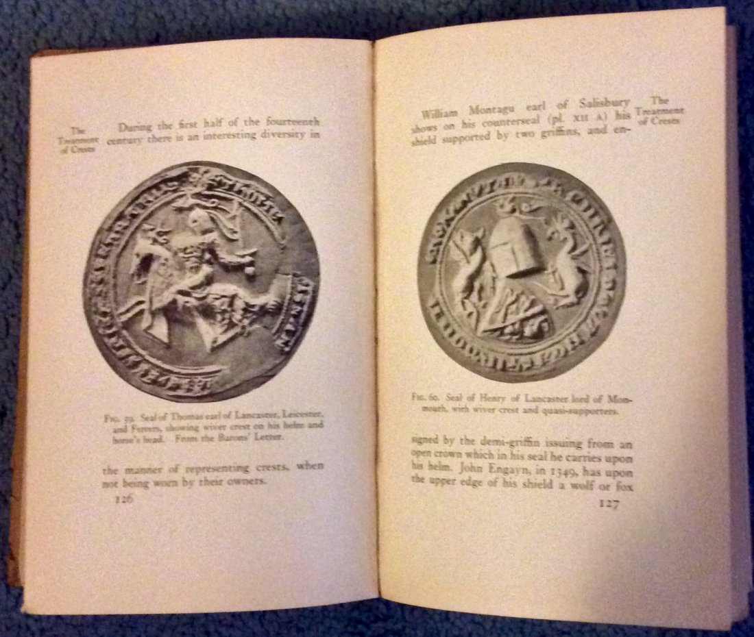 ANTIQUE Heavily Illustrated HC On Heraldry & Design - 2
