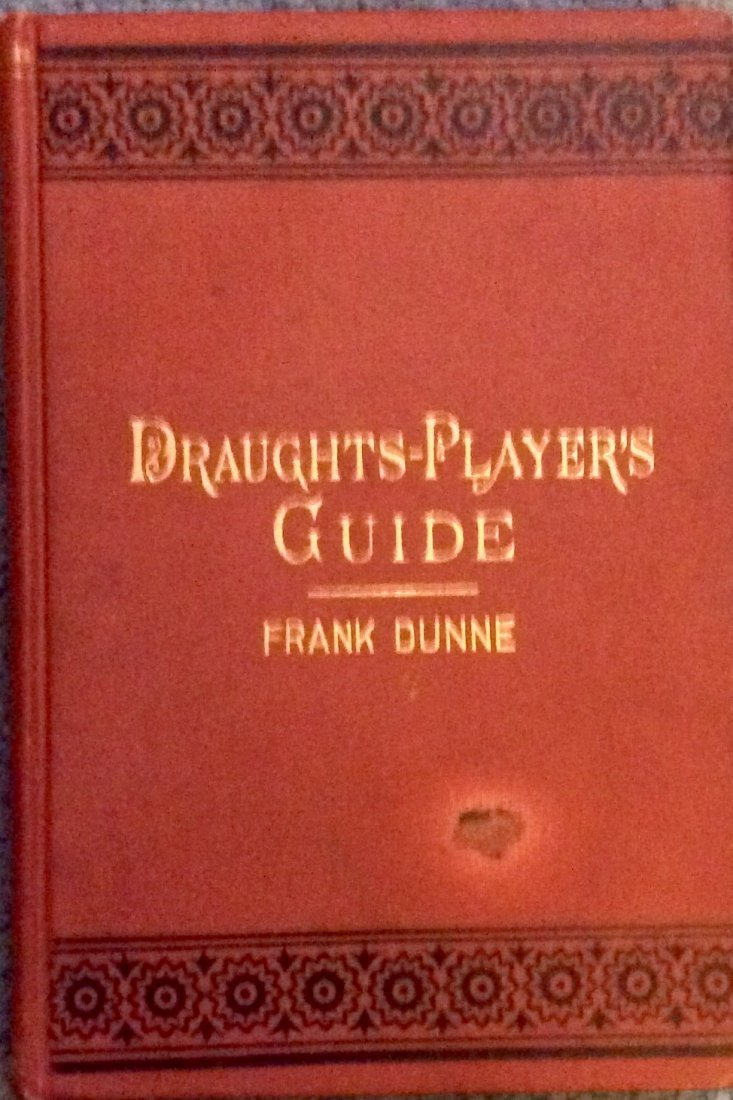 ANTIQUE Gilt Decorated HC Draughts-Player's Guide