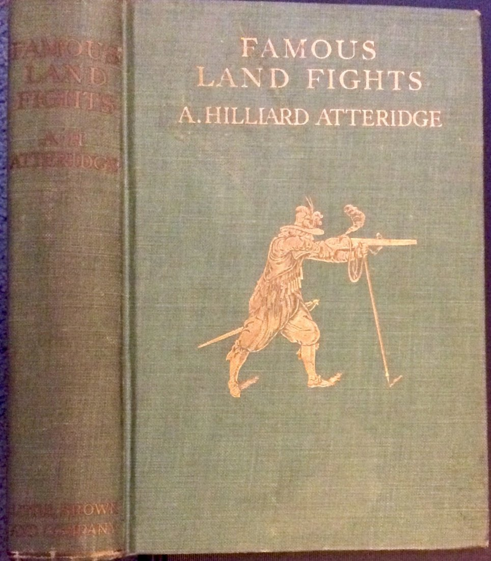 ANTIQUE 1924 Hardcover 1st edition Military History