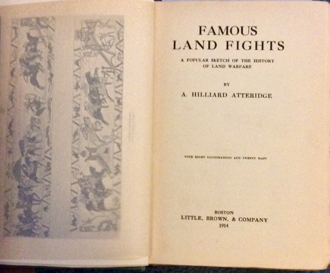 ANTIQUE 1924 Hardcover 1st edition Military History - 2