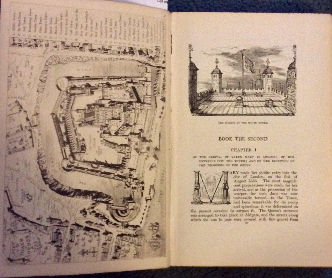 ANTIQUE HC Historical Romance Illustrated by Cruikshank - 3