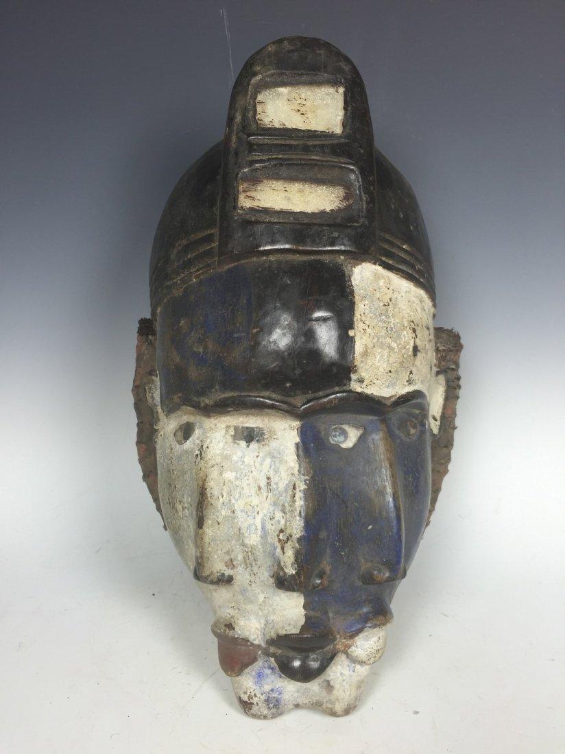 Double-Faced Bacongo Mask