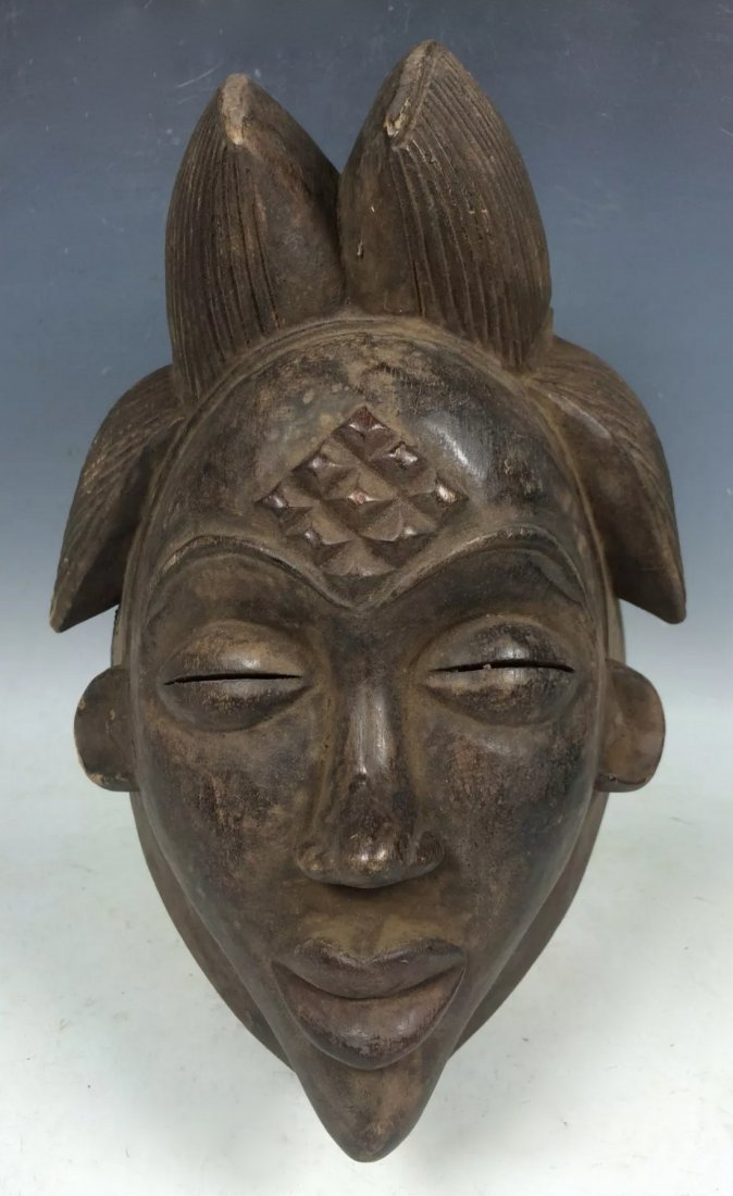 Black Punu Mask