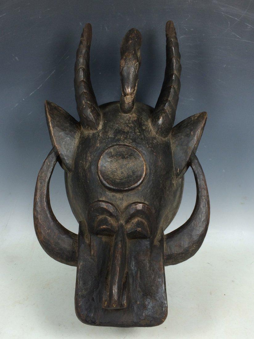 Senufo Zoomorphic Mask