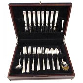 Old Lace by Towle Sterling Silver Flatware Set for 8