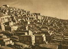 Grober, Karl - Jewish graves in Valley of Johoshaphat