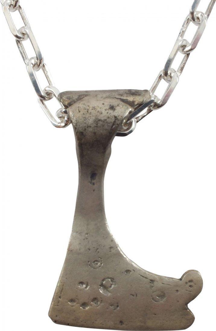RARE VIKING VOTIVE AXE C.900-1000 A.D.