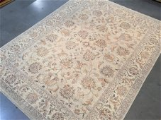 Hand Knotted Zighler Wool Rug, 8x10
