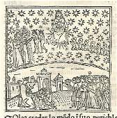 1507 Woodcut Leaf Dante Paradiso