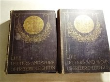 1906 Life Letters and Works of Frederic Leighton