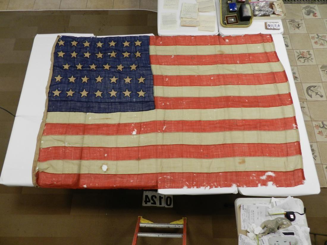 Oswego Co. Civil War Flag Luitenant