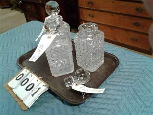 890's Whiskey Decanters