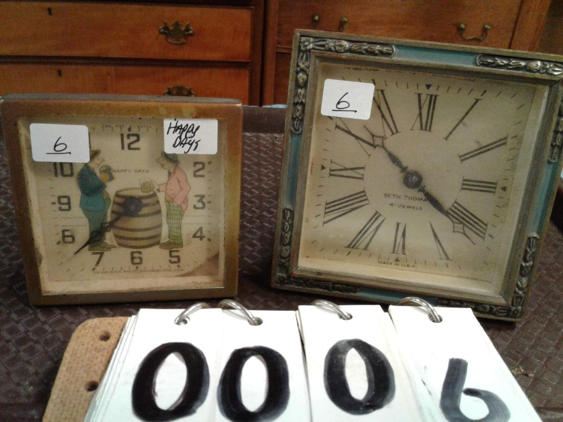 1920's Bouider Clocks (2)