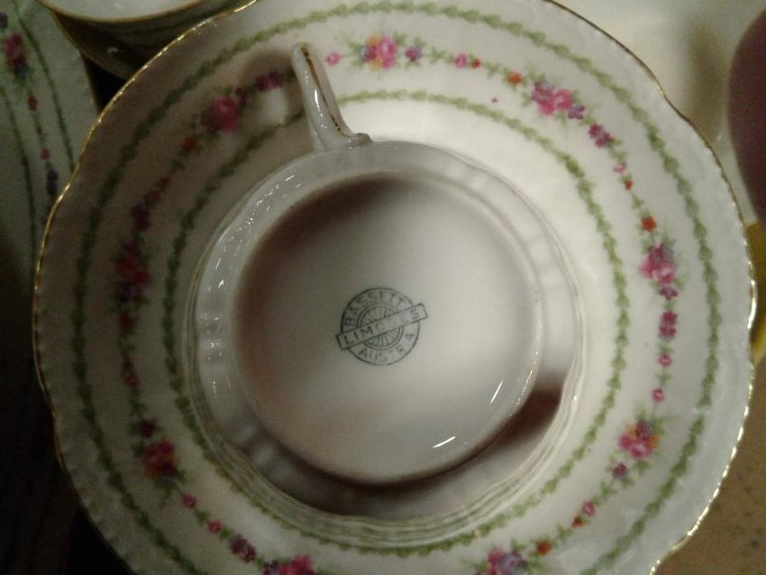 Limoges Bassetts China Set