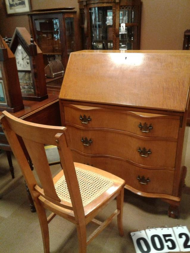 1920's American Ball + Claw Foot Desk