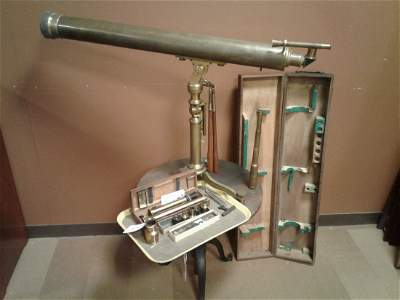 R. Mailhat(Signed) Brass Telescope